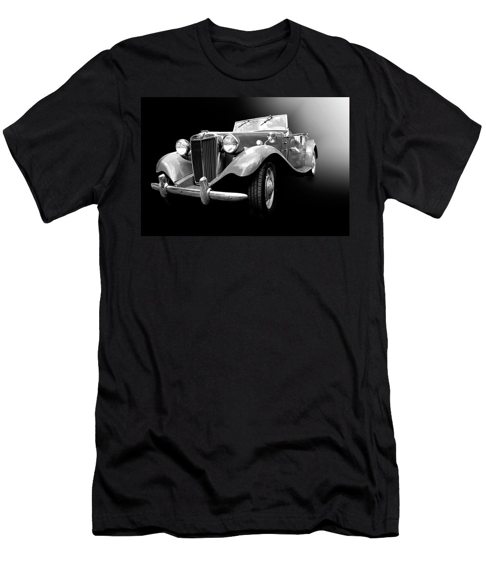 1950s Men's T-Shirt (Athletic Fit) featuring the photograph Mg-td by Dick Goodman