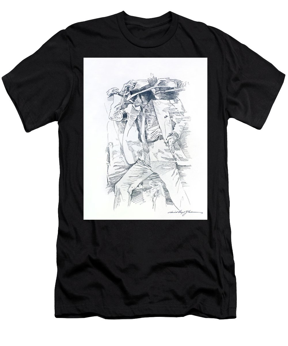5f5e55b286bd Michael Smooth Criminal II T-Shirt for Sale by David Lloyd Glover
