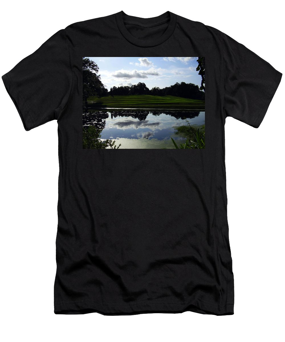 Middleton Place Men's T-Shirt (Athletic Fit) featuring the photograph Middleton Place II by Flavia Westerwelle