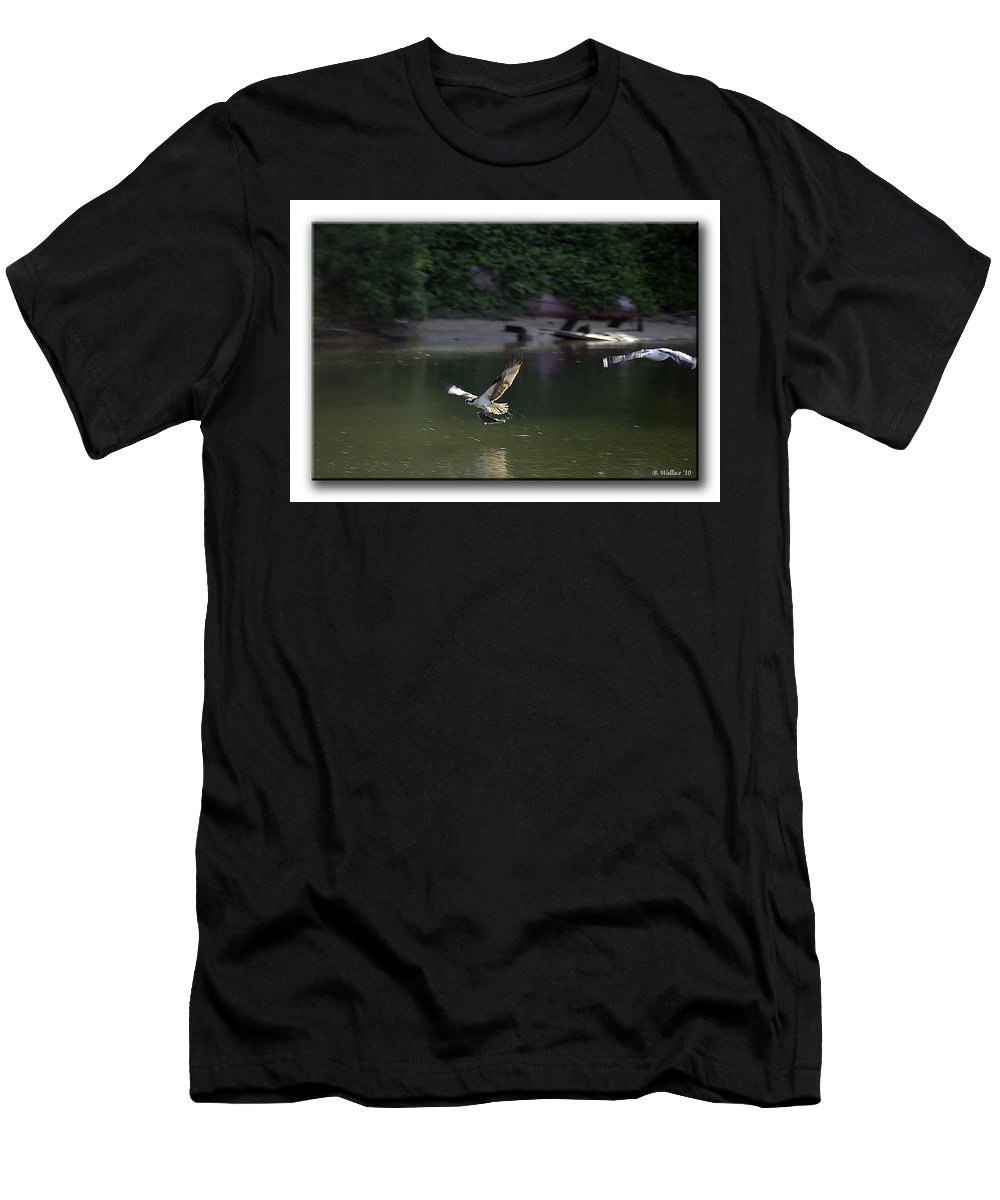 2d Men's T-Shirt (Athletic Fit) featuring the photograph Mine by Brian Wallace