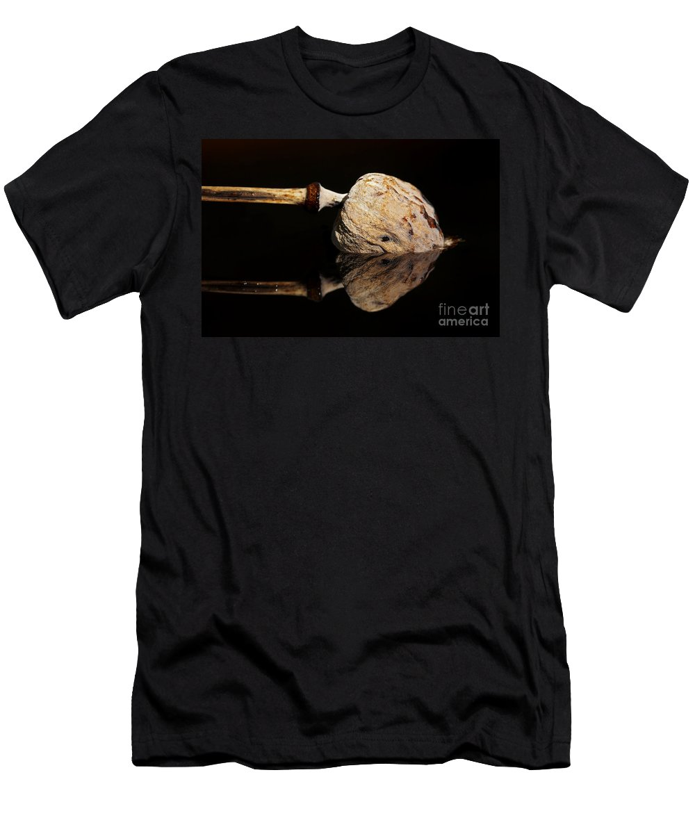 Anacampsis Men's T-Shirt (Athletic Fit) featuring the photograph Mirroring by Michal Boubin
