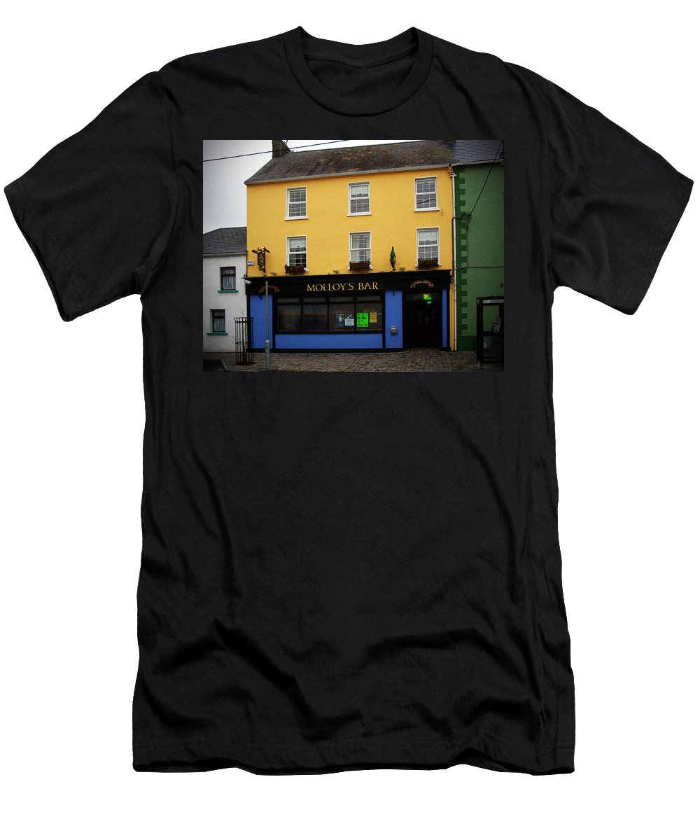 Pub Men's T-Shirt (Athletic Fit) featuring the photograph Molloy by Tim Nyberg