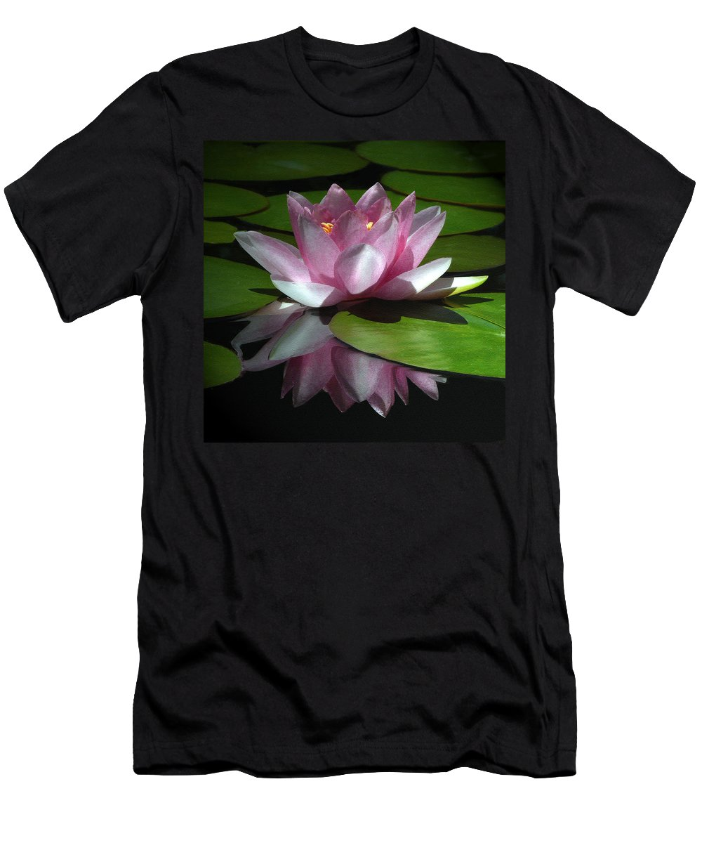 Floral Men's T-Shirt (Athletic Fit) featuring the photograph Monet's Muse by Marion Cullen