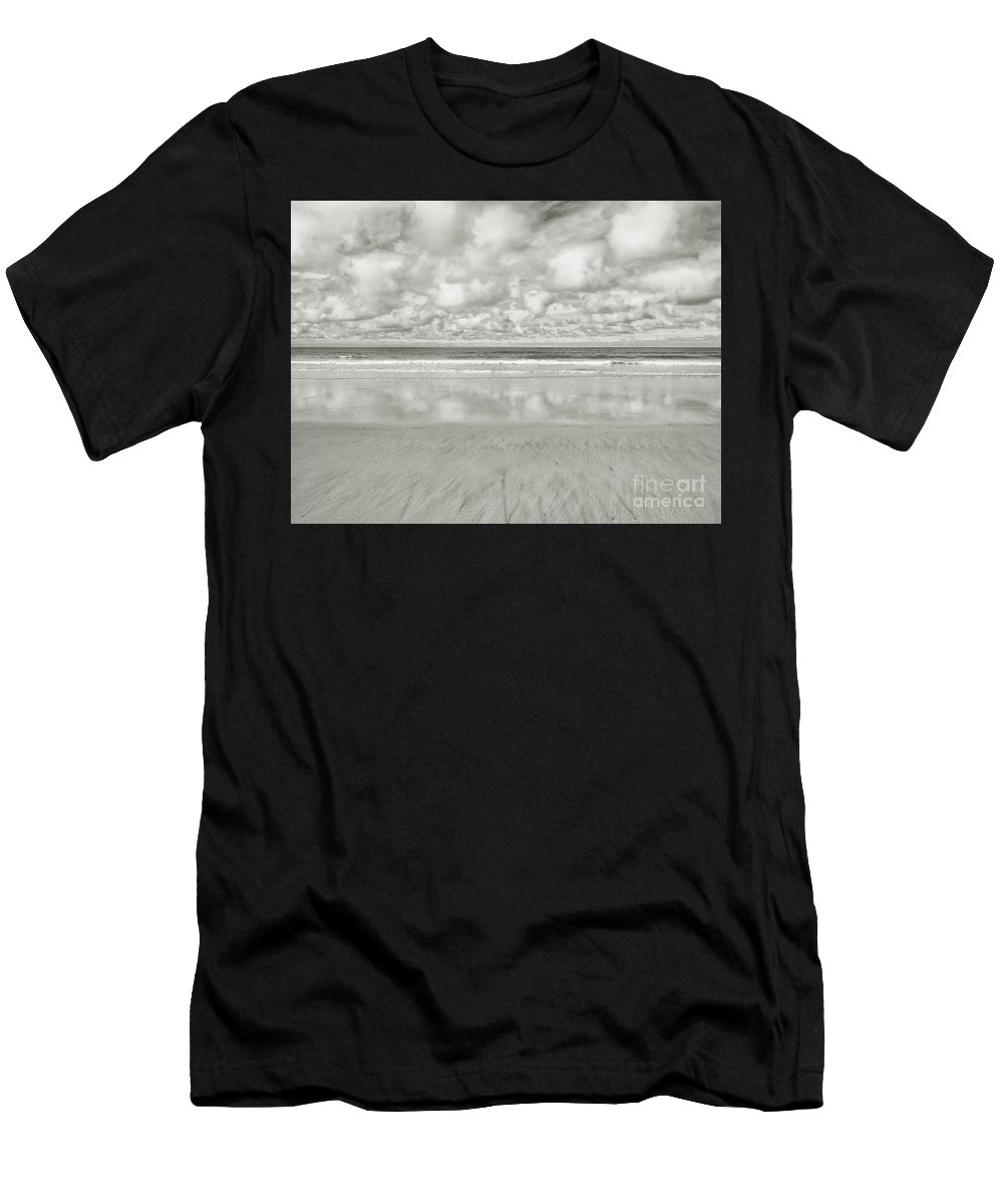 Beach Men's T-Shirt (Athletic Fit) featuring the photograph On The Beach 4 by Nicholas Burningham