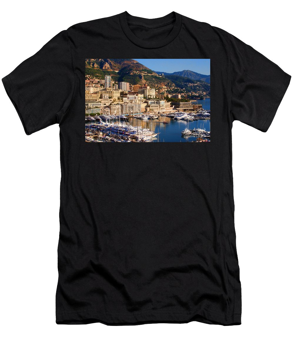 Europe Photograph Men's T-Shirt (Athletic Fit) featuring the photograph Monte Carlo by Tom Prendergast