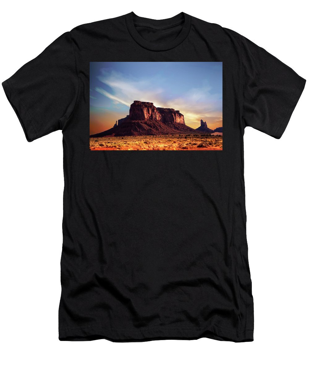 Mesa T-Shirt featuring the photograph Monument formations by Roy Nierdieck
