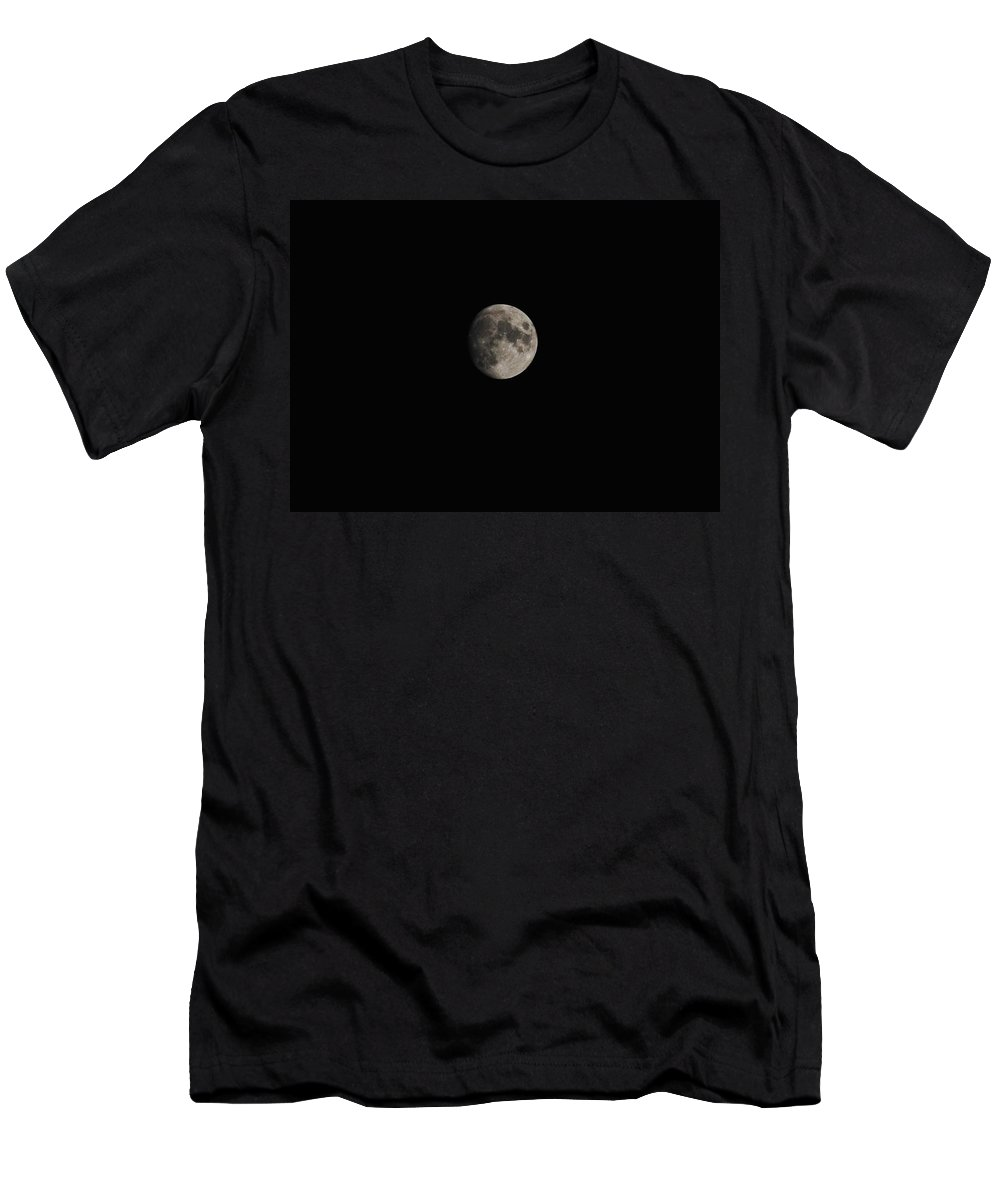Eric Liller Men's T-Shirt (Athletic Fit) featuring the photograph Moon Glow by Eric Liller