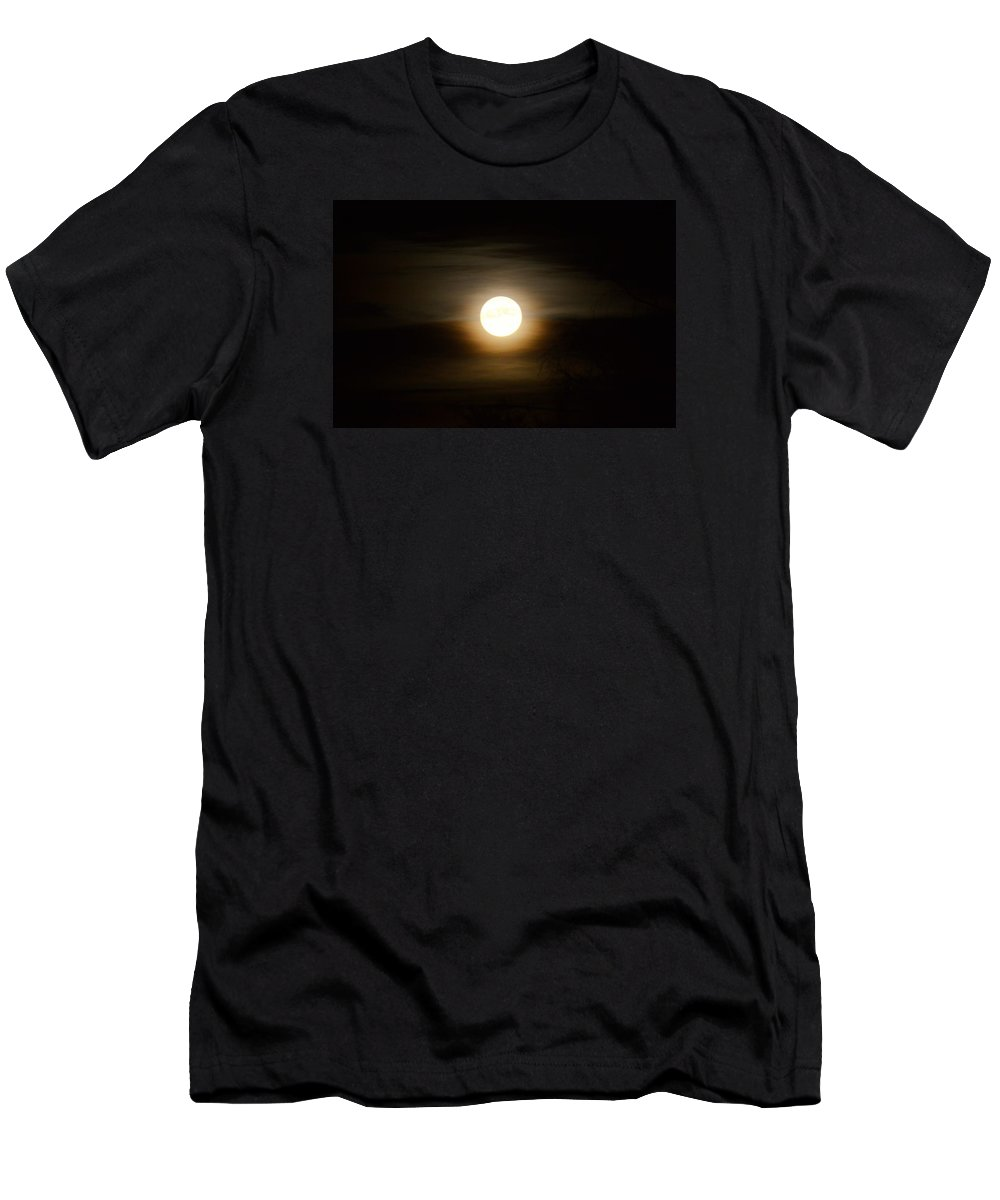 Moon Men's T-Shirt (Athletic Fit) featuring the photograph Moonlight by FL collection