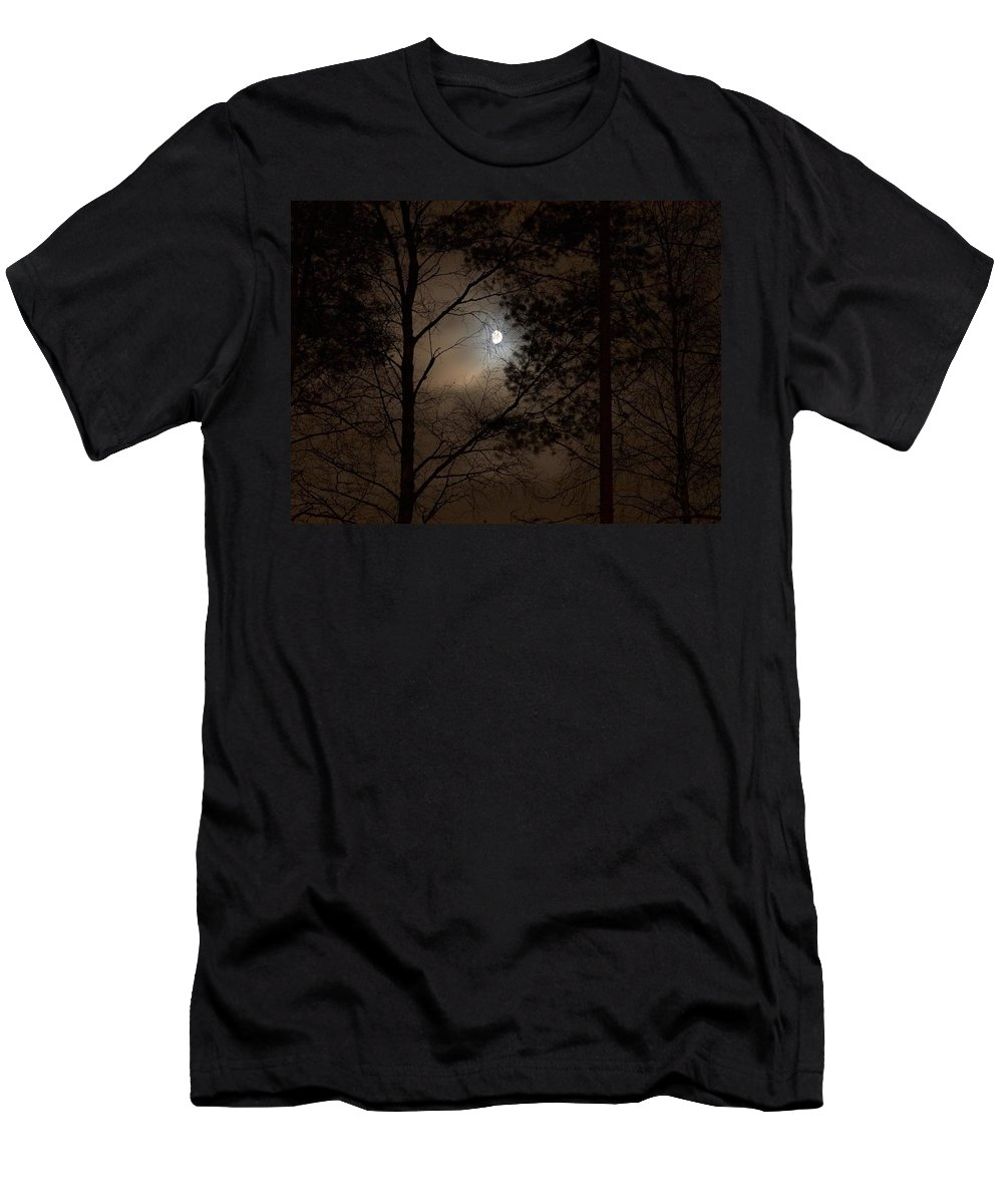 Lehtokukka Men's T-Shirt (Athletic Fit) featuring the photograph Moonshine 05 by Jouko Lehto