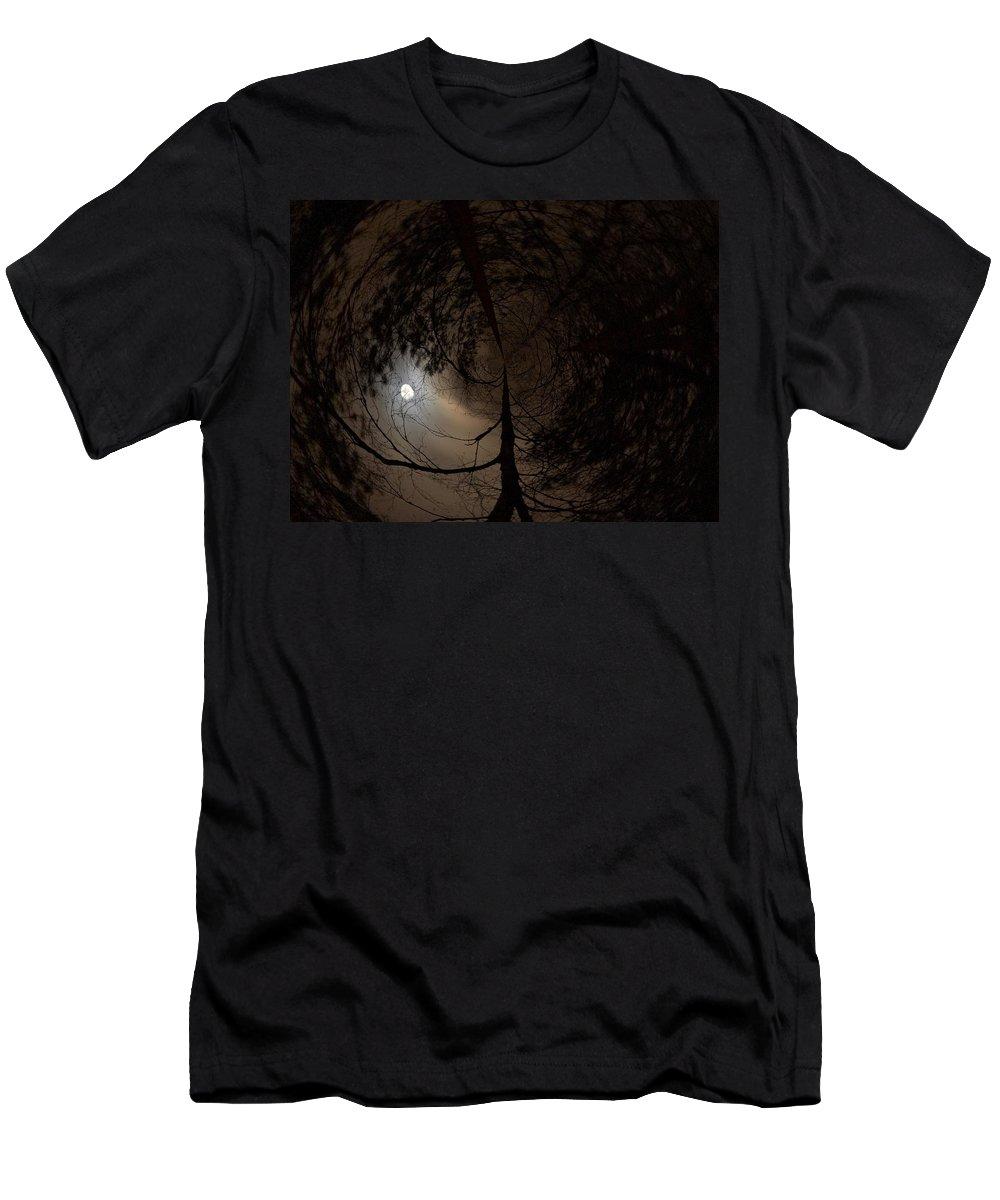 Lehtokukka Men's T-Shirt (Athletic Fit) featuring the photograph Moonshine 13 Fishy by Jouko Lehto