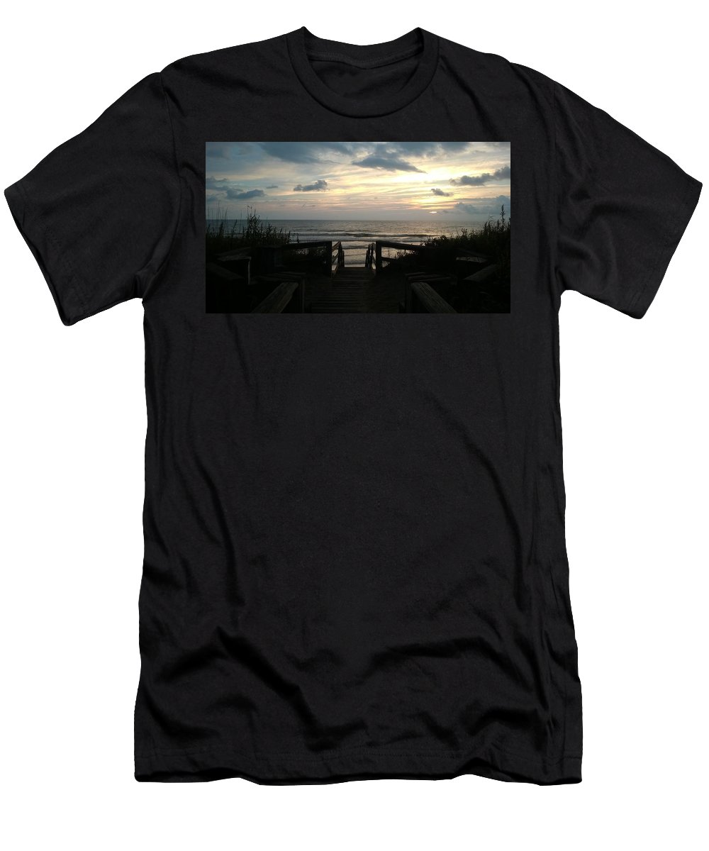 Corolla Men's T-Shirt (Athletic Fit) featuring the photograph Morning After by Lawrence Roche