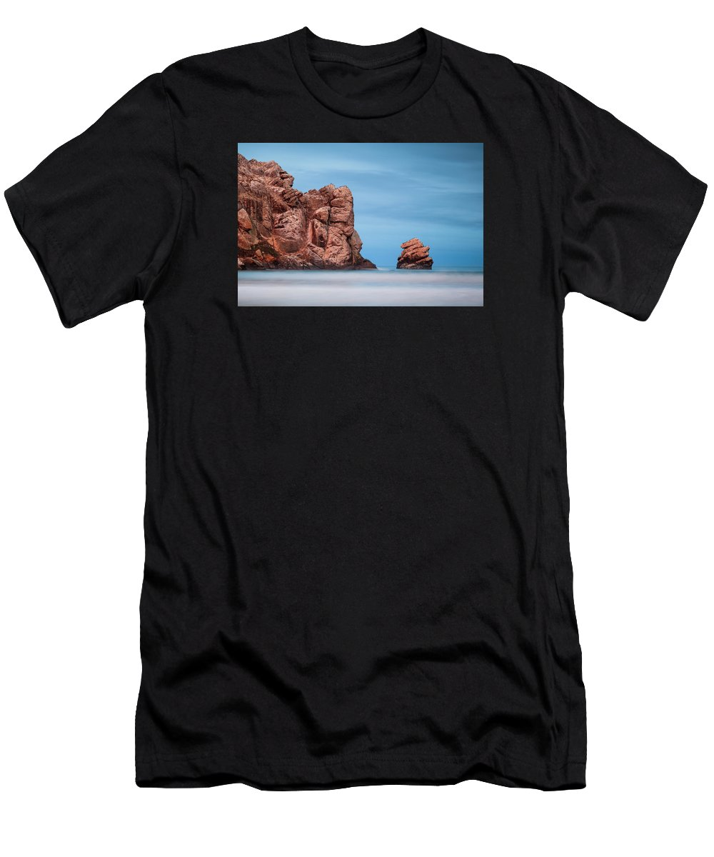 Morro Bay Men's T-Shirt (Athletic Fit) featuring the photograph Morro Bay by Prashant Thumma