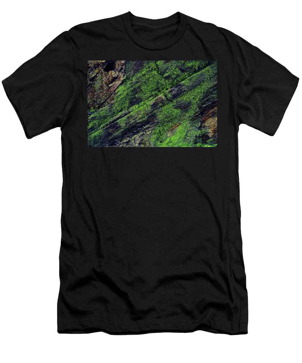 Moss Men's T-Shirt (Athletic Fit) featuring the photograph Mossy by Christina Zizzo