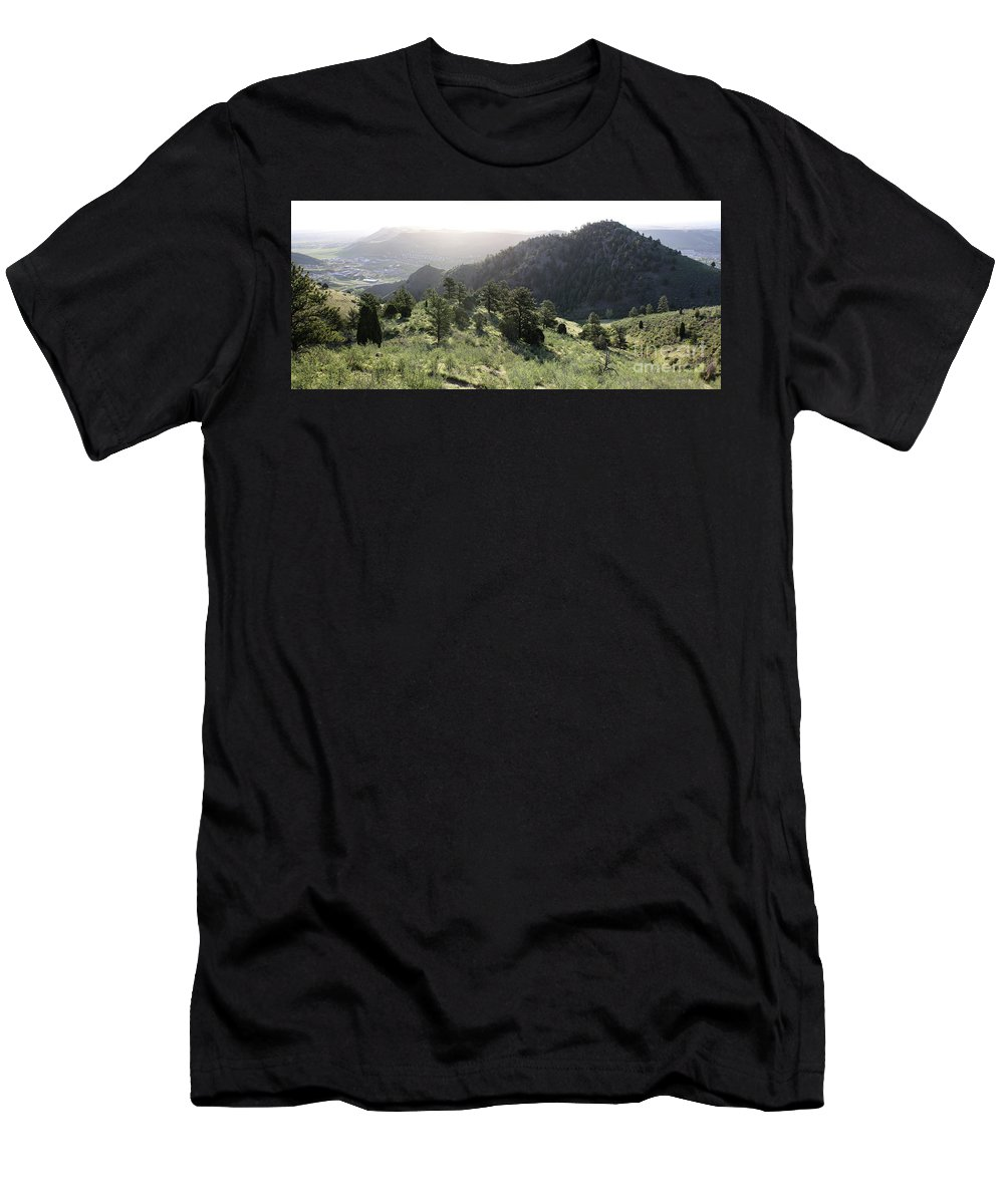 Mount Galbraith Men's T-Shirt (Athletic Fit) featuring the photograph Mount Galbraith In Spring by Andrew Terrill