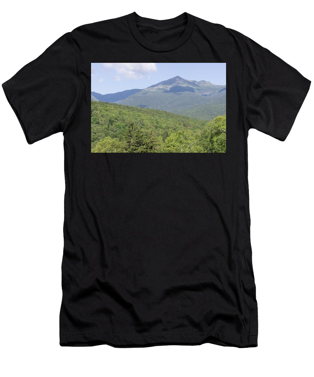 Presidential Men's T-Shirt (Athletic Fit) featuring the photograph Mount Washington by Adam Gladstone