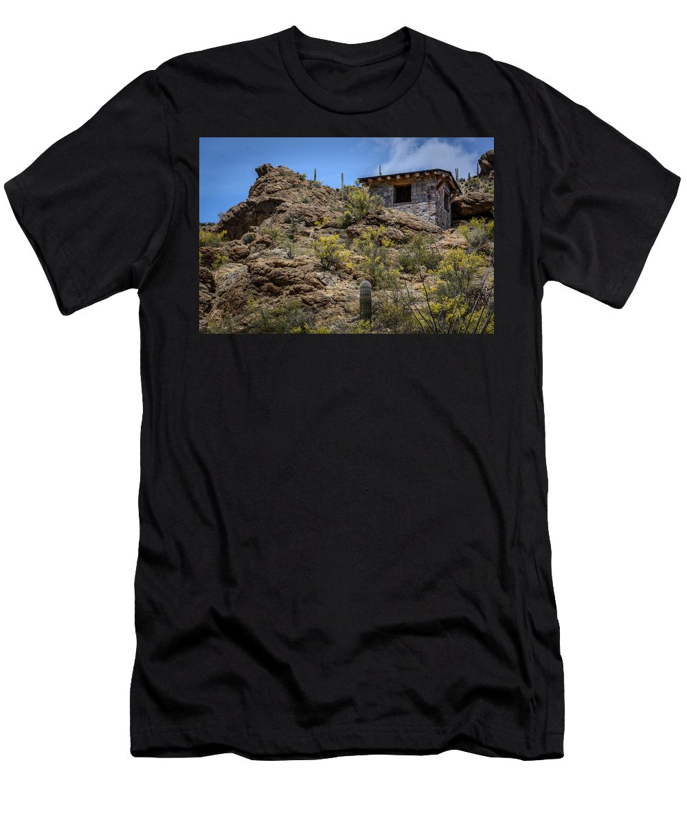 Gates Pass T-Shirt featuring the photograph Mountain Overlook by Pat Scanlon