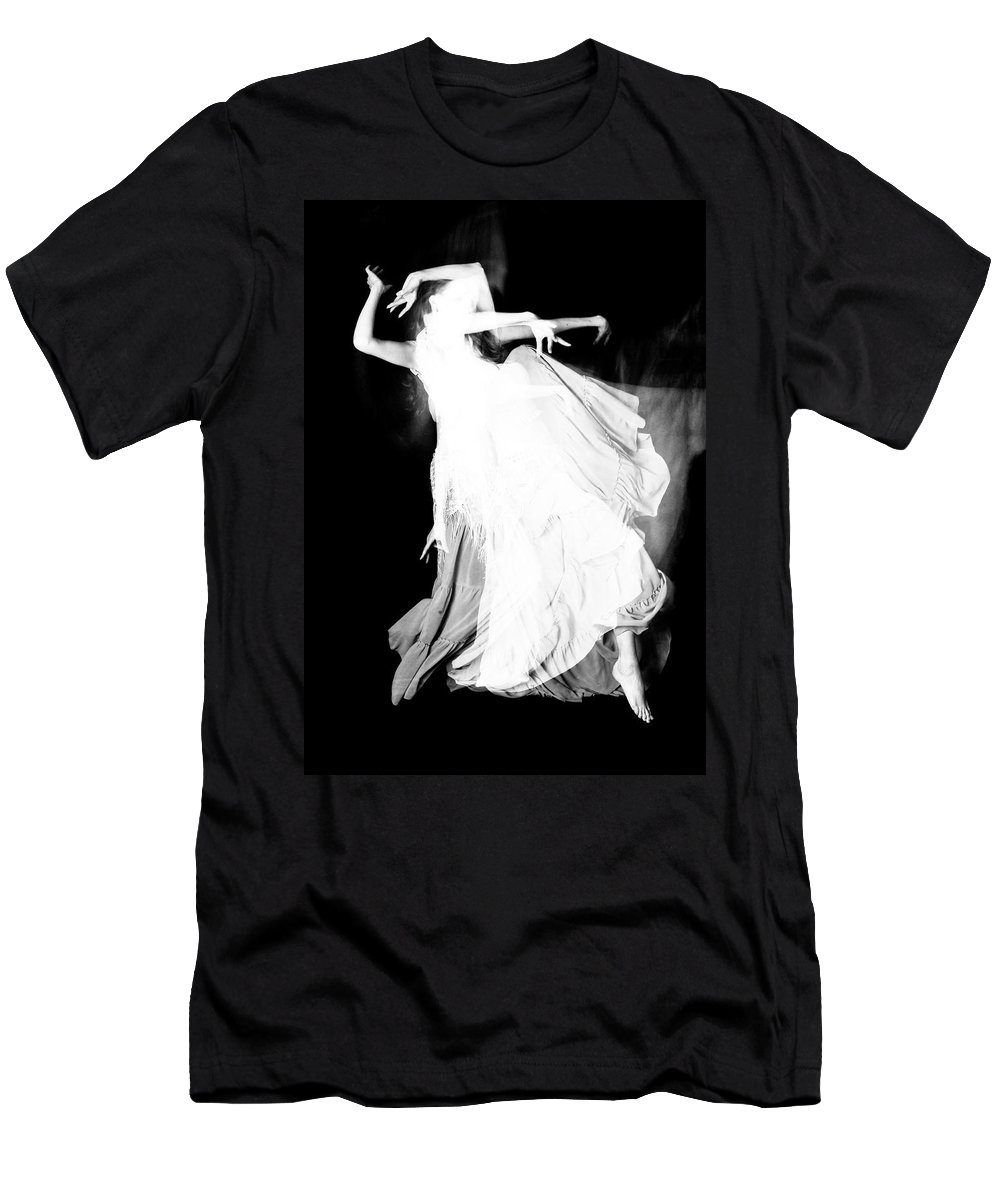 Dance Men's T-Shirt (Athletic Fit) featuring the photograph Movement by Scott Sawyer