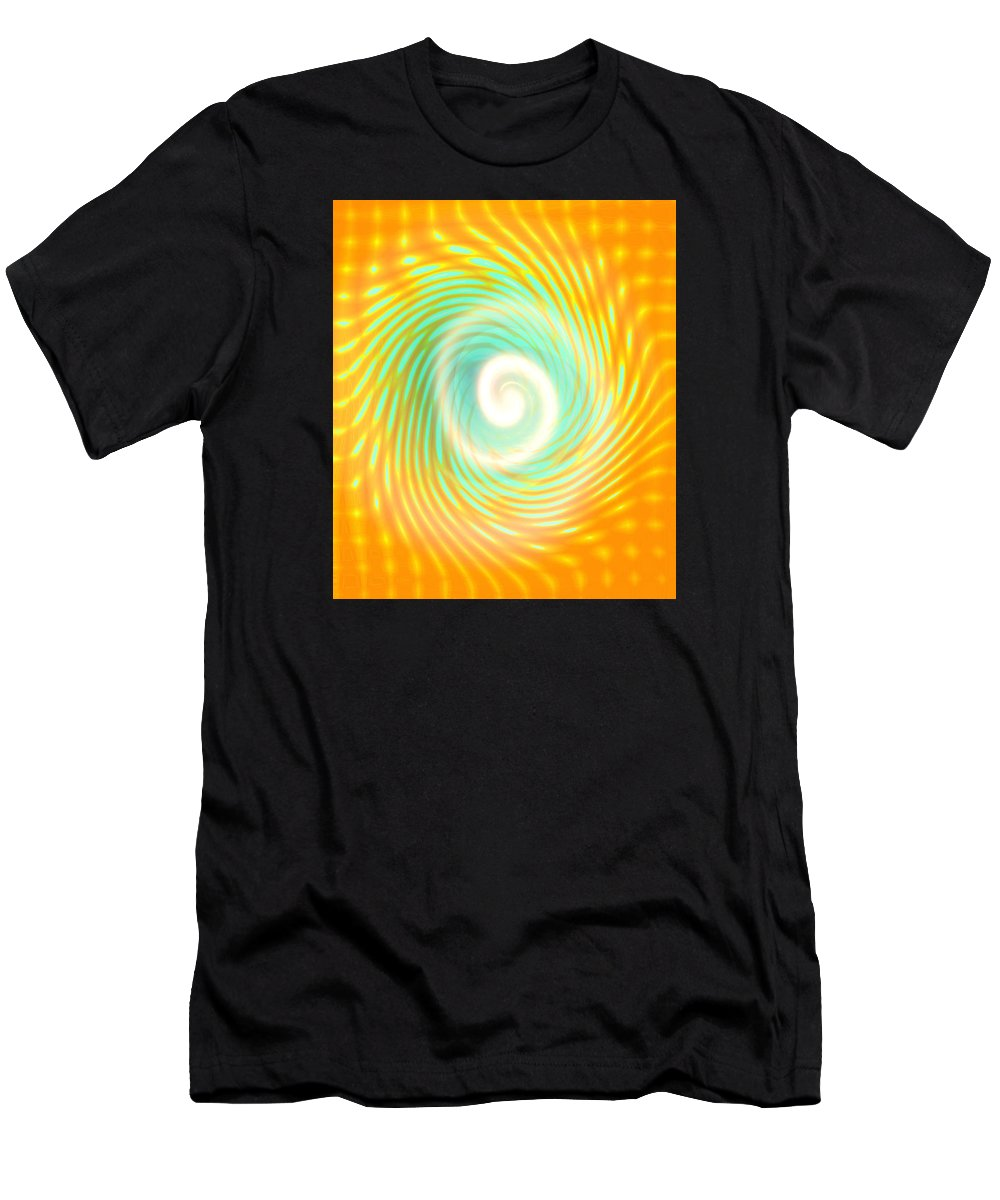 Moveonart! Archives: Miraclesforyou Abstract By Artist Musician Jacob Kane Kanduch -- Omnetra Men's T-Shirt (Athletic Fit) featuring the digital art Moveonart Archives Miraclesforyou by Jacob Kanduch