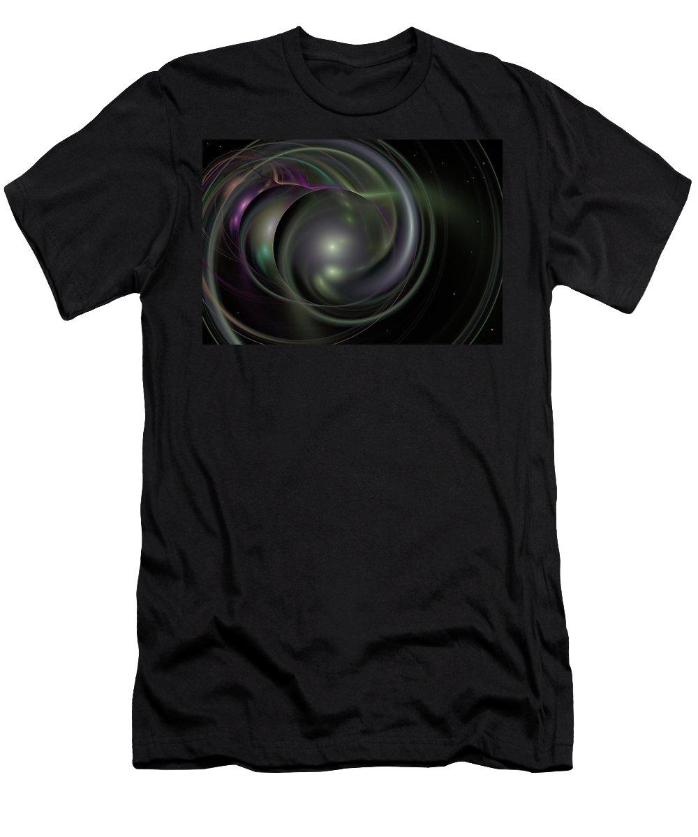Fantasy T-Shirt featuring the digital art Multiverse by David Lane