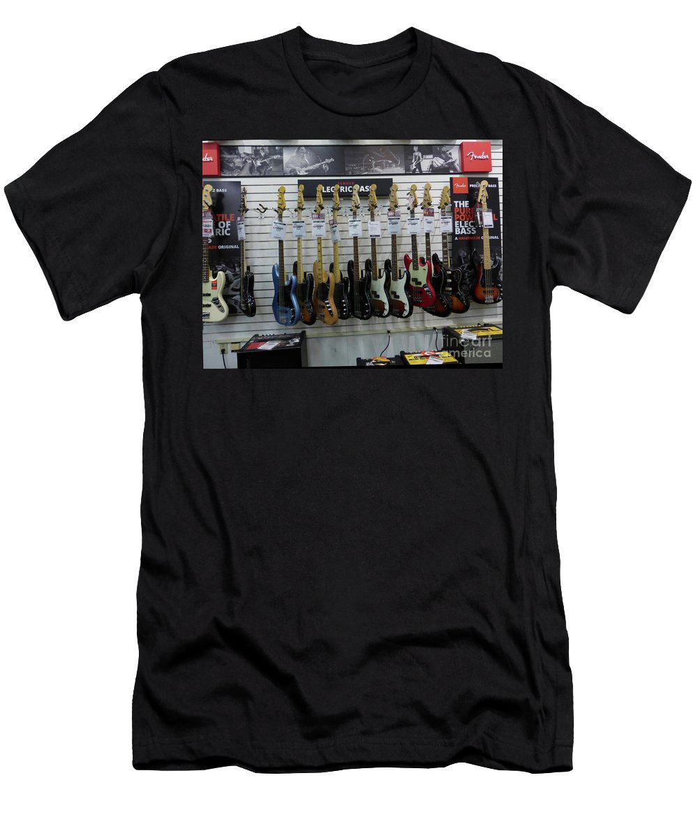 Fender Men's T-Shirt (Athletic Fit) featuring the photograph Musicians' Dream 4 by To-Tam Gerwe