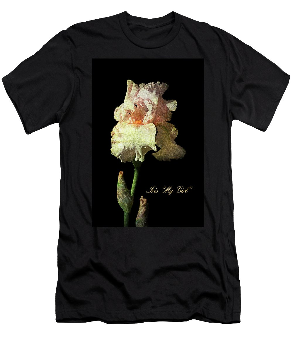 Agriculture Men's T-Shirt (Athletic Fit) featuring the photograph My Girl Iris by John Trax