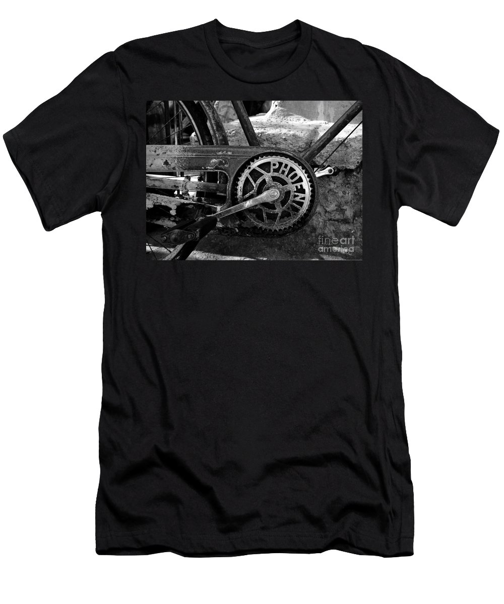 Bicycle Men's T-Shirt (Athletic Fit) featuring the photograph My Old Phoenix by David Lee Thompson