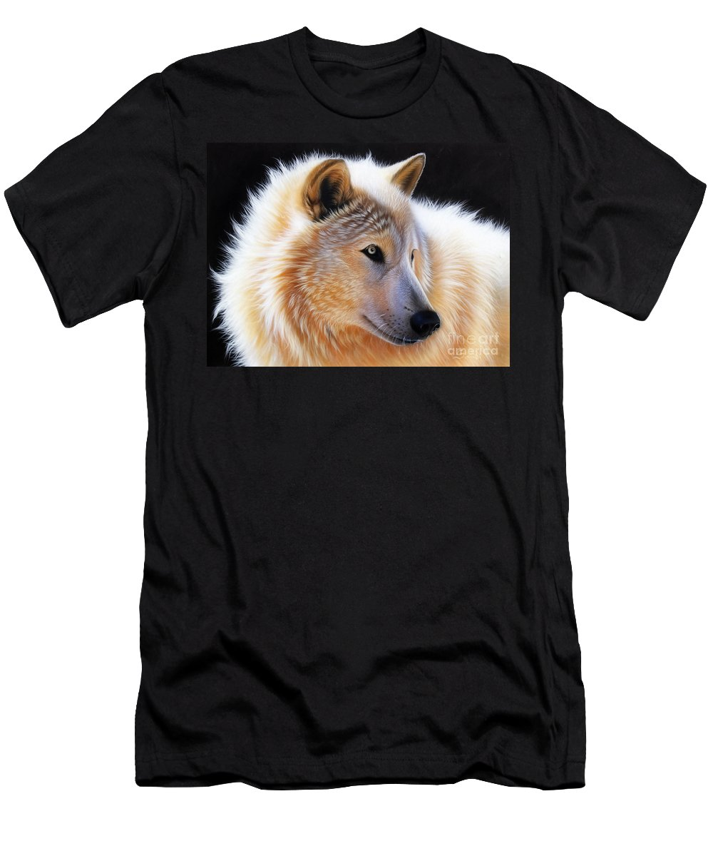 Acrylic T-Shirt featuring the painting Nala by Sandi Baker