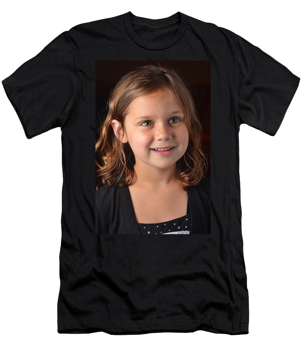 Reunion T-Shirt featuring the photograph Naturally Kayleigh by Carle Aldrete