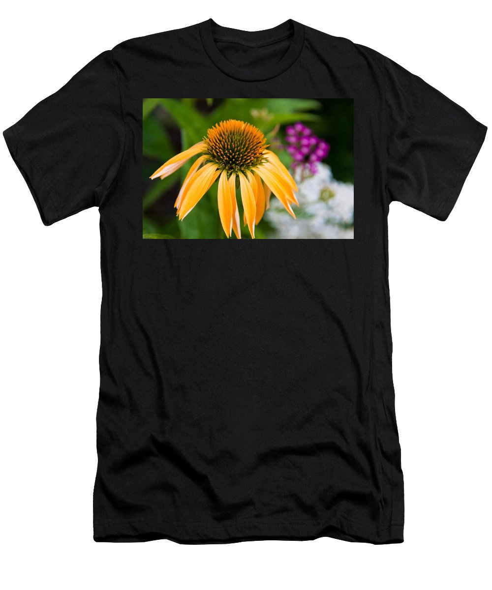 Flower Men's T-Shirt (Athletic Fit) featuring the photograph Nature by Bob Mintie