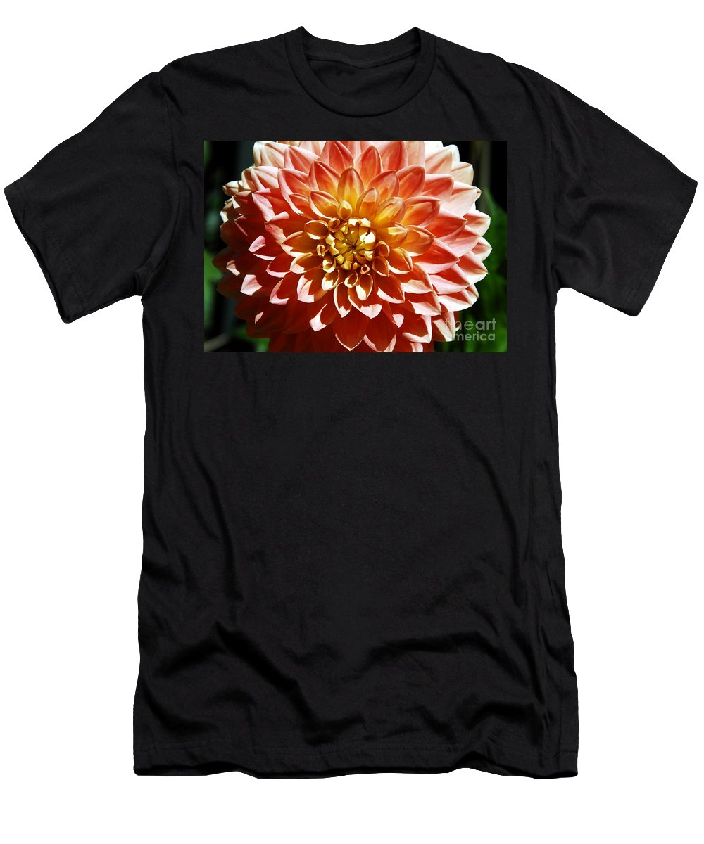 Flower Men's T-Shirt (Athletic Fit) featuring the photograph Nature's Brilliance by David Lee Thompson
