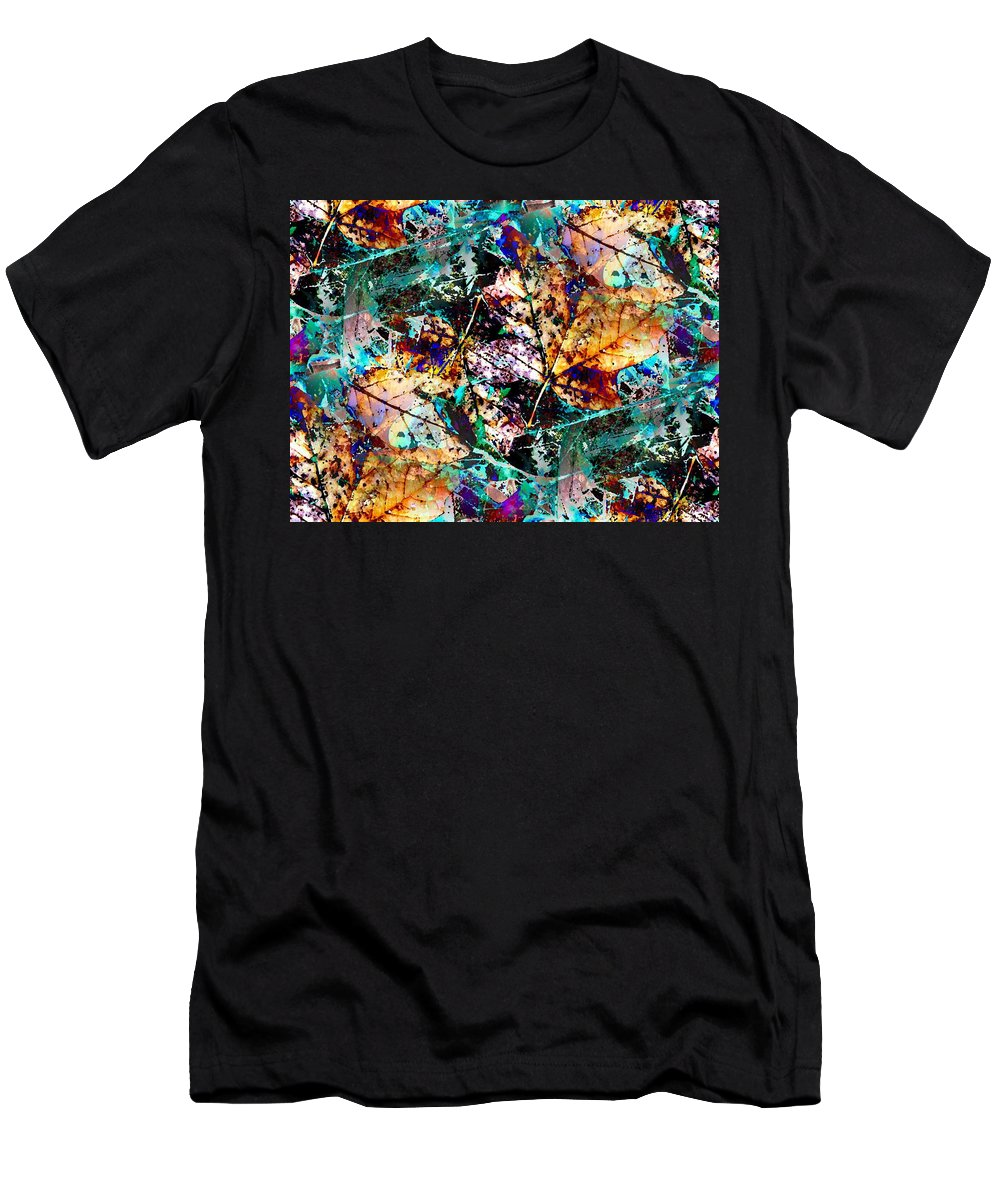 Nature Men's T-Shirt (Athletic Fit) featuring the digital art Natures Canvas by Tim Allen
