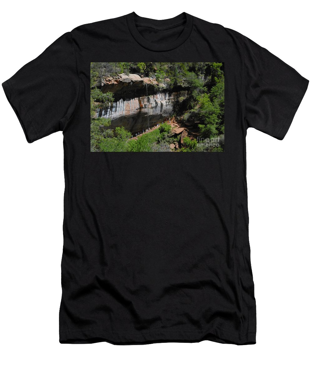 Photography Men's T-Shirt (Athletic Fit) featuring the photograph Natures Classroom by David Lee Thompson