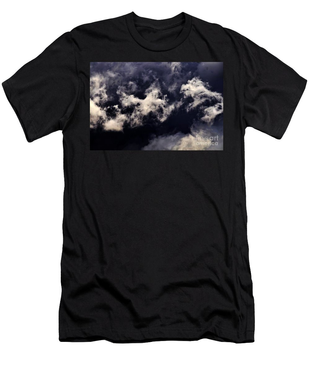 Clay Men's T-Shirt (Athletic Fit) featuring the photograph Natures Paint Daubs by Clayton Bruster