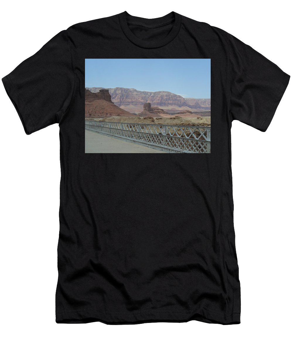 Photography Men's T-Shirt (Athletic Fit) featuring the photograph Navajo Nation 2 by Jocelyn Eastman