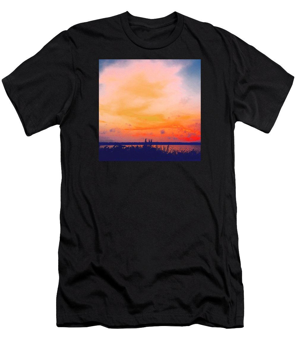Massachusetts T-Shirt featuring the photograph Southcoast Sunset by Kate Arsenault