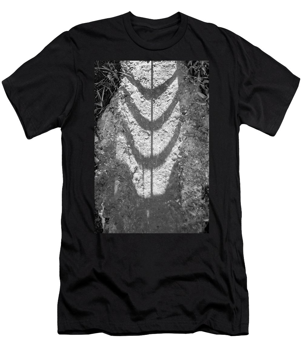 Underlies Men's T-Shirt (Athletic Fit) featuring the photograph Necklace Limited Edition 1 Of 1 by Ordi Calder