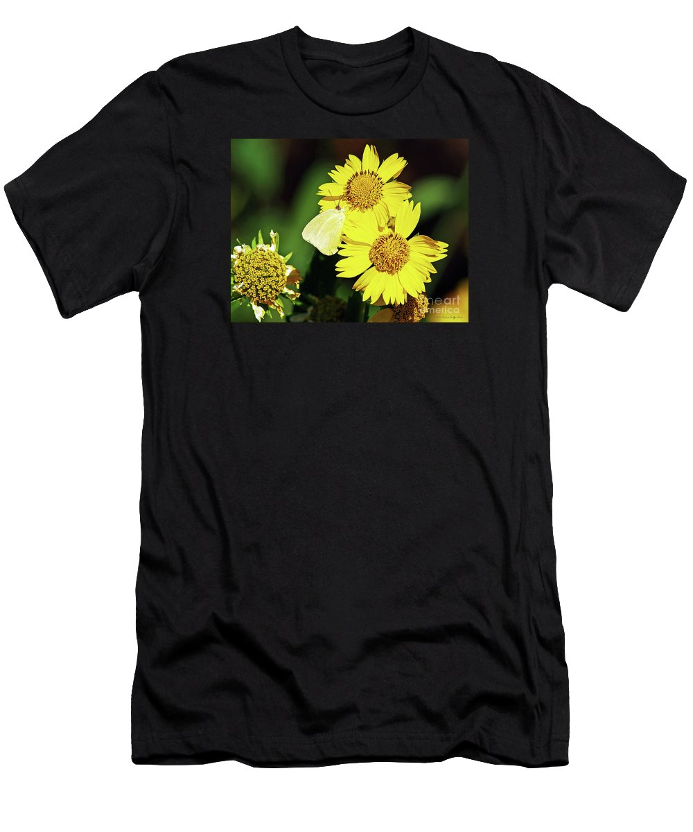 Fine Art Photography Men's T-Shirt (Athletic Fit) featuring the photograph Nectar Seeker by Patricia Griffin Brett
