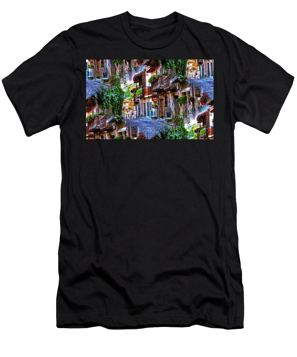 World's Men's T-Shirt (Athletic Fit) featuring the digital art Netherlands Maize by Ron Fleishman