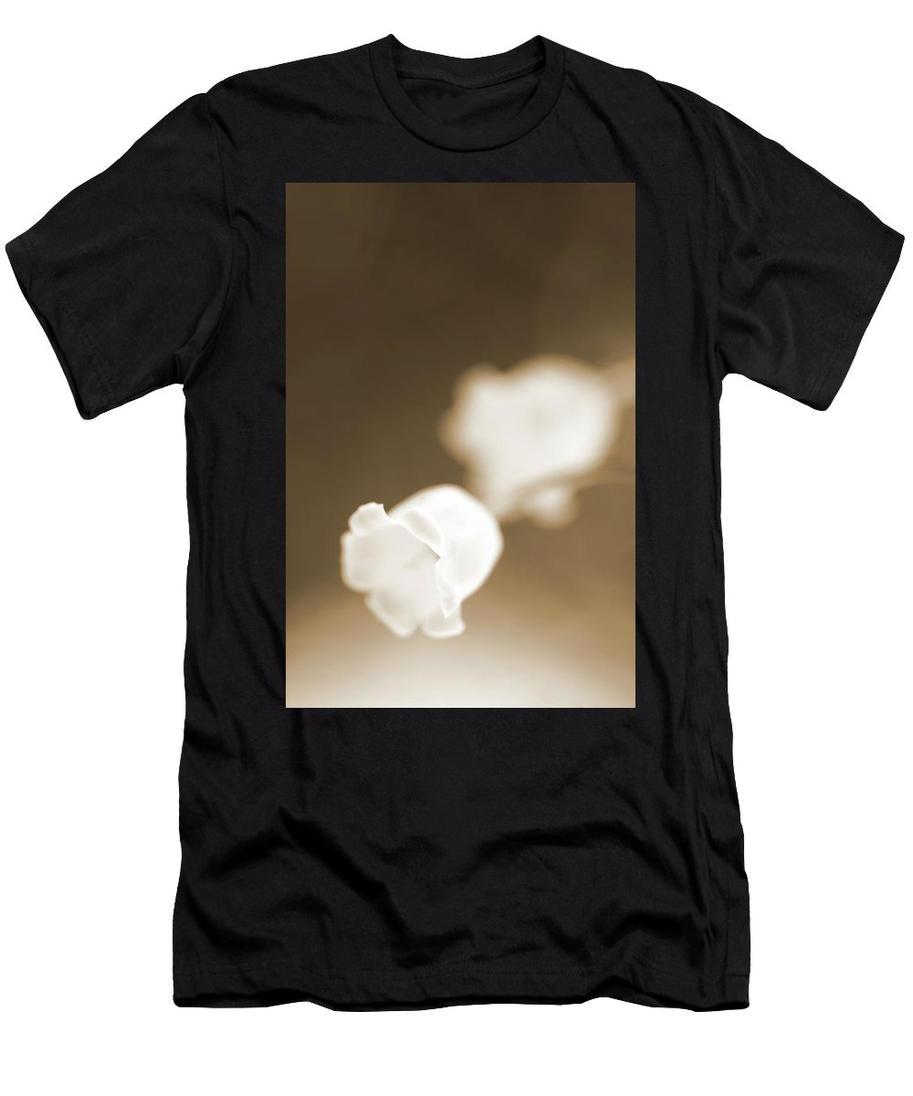 Flowers Men's T-Shirt (Athletic Fit) featuring the photograph New Beginnings by Elliot Stombaugh