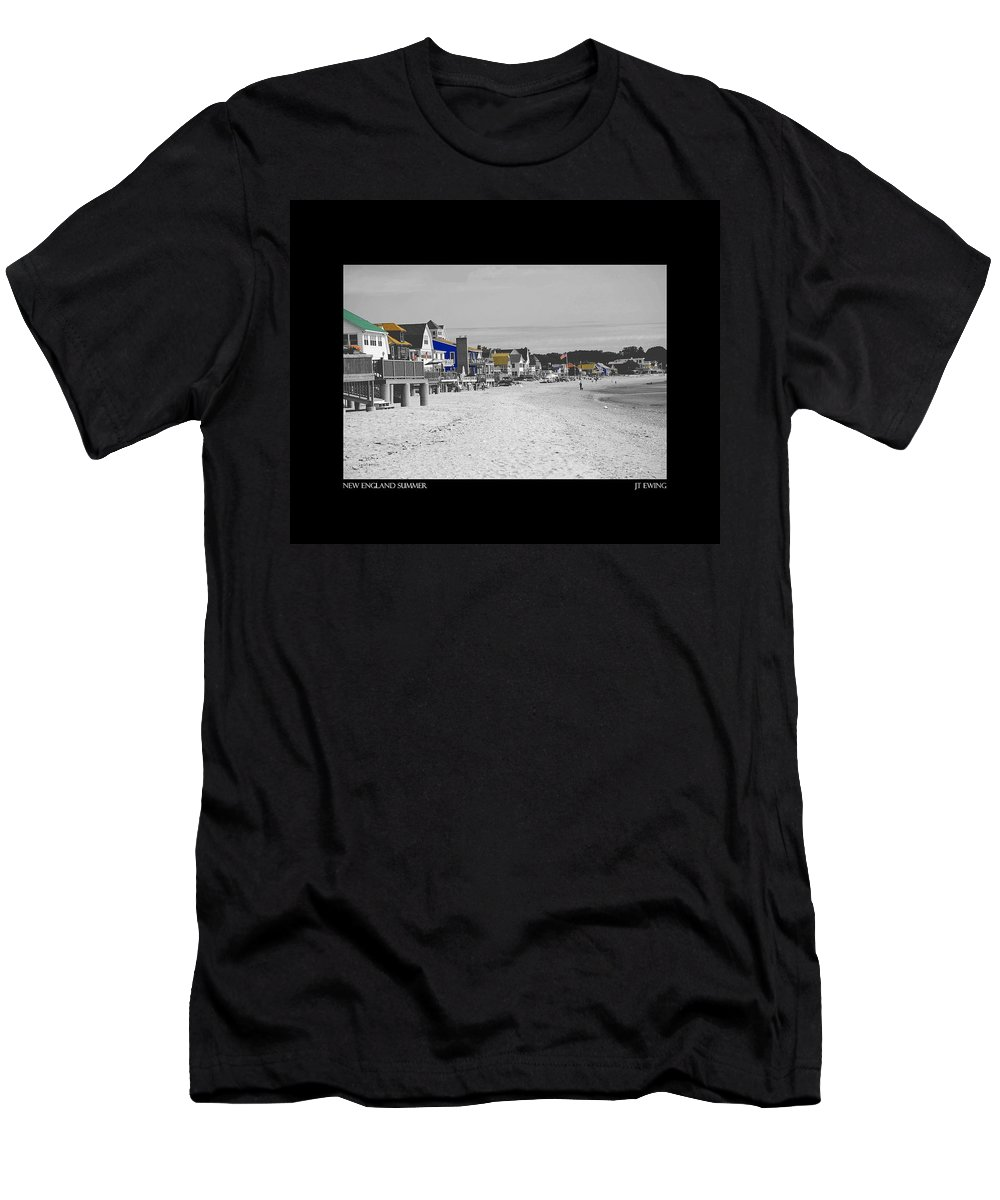 Summer Men's T-Shirt (Athletic Fit) featuring the photograph New England Summer by J Todd