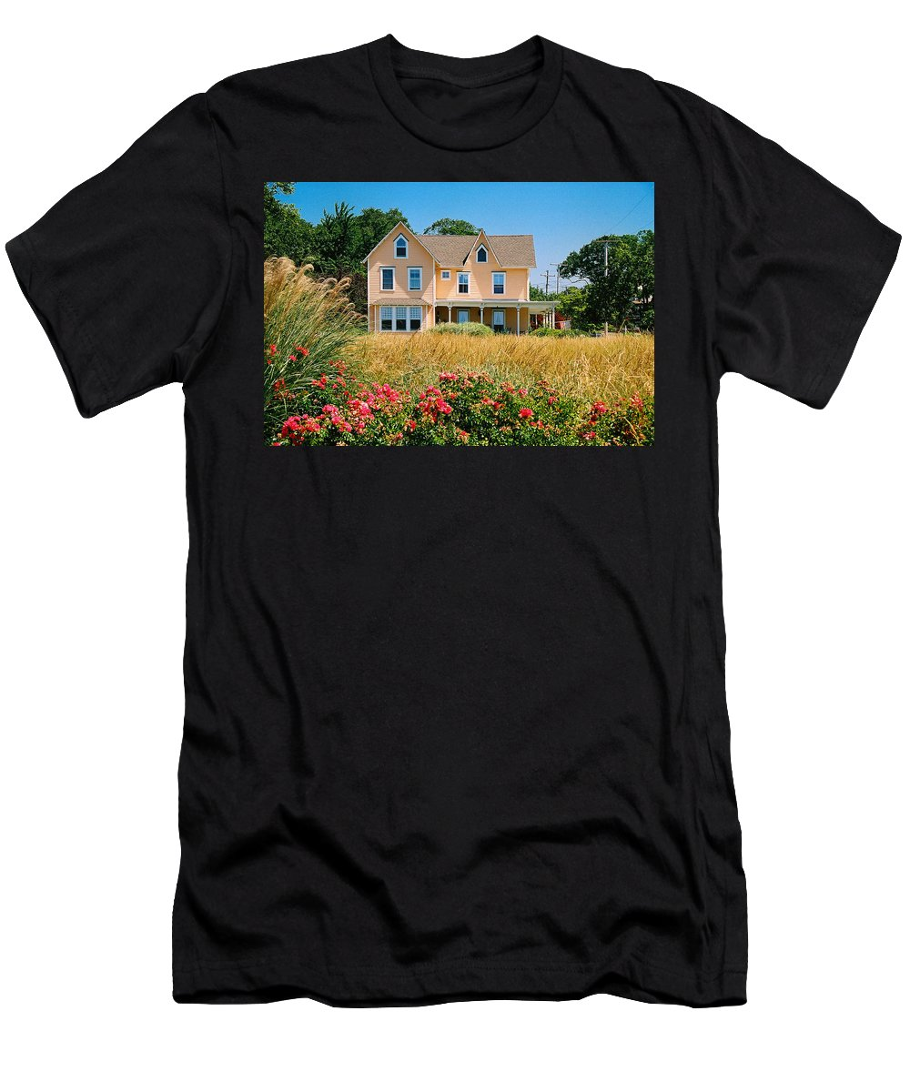 Landscape Men's T-Shirt (Athletic Fit) featuring the photograph New Jersey Landscape by Steve Karol