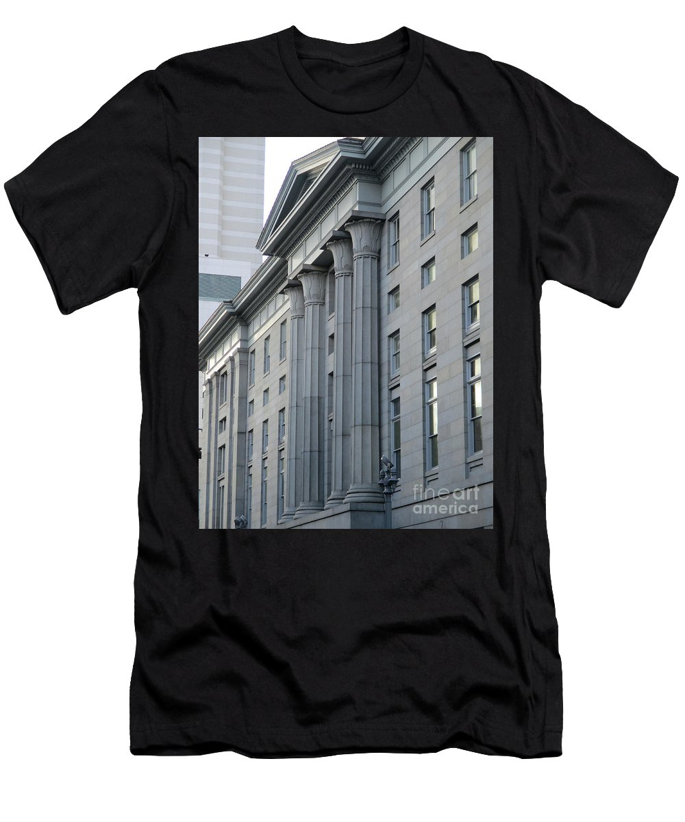 New Orleans Men's T-Shirt (Athletic Fit) featuring the photograph New Orleans 1 by Randall Weidner