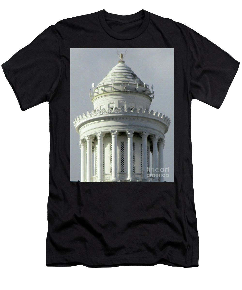 New Orleans Men's T-Shirt (Athletic Fit) featuring the photograph New Orleans 2 by Randall Weidner