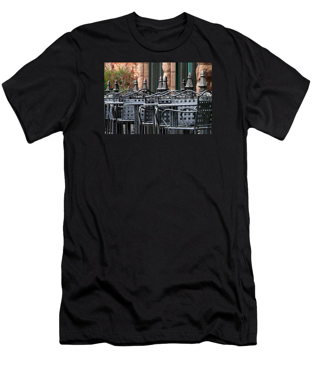 Coffee Men's T-Shirt (Athletic Fit) featuring the photograph Nina's by David Ralph Johnson