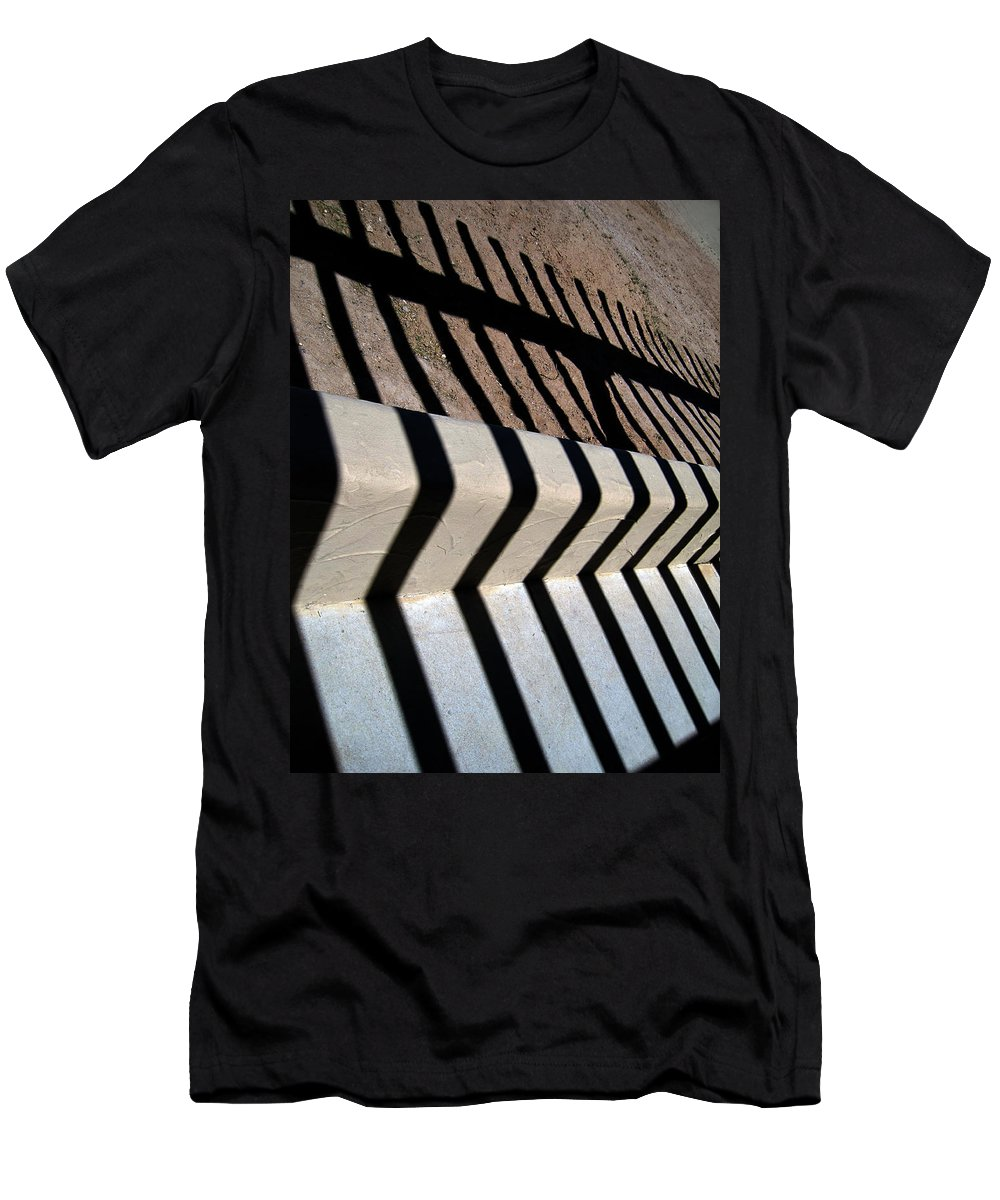 Photography Men's T-Shirt (Athletic Fit) featuring the photograph Not A Zebra by Susanne Van Hulst