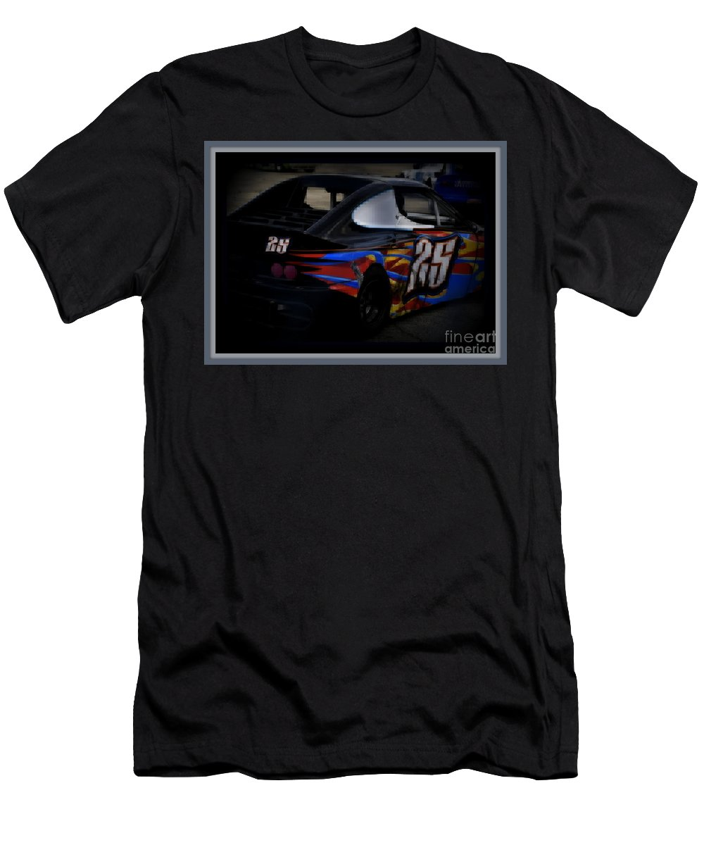 Number Men's T-Shirt (Athletic Fit) featuring the photograph Number Twenty-five by Anita Goel