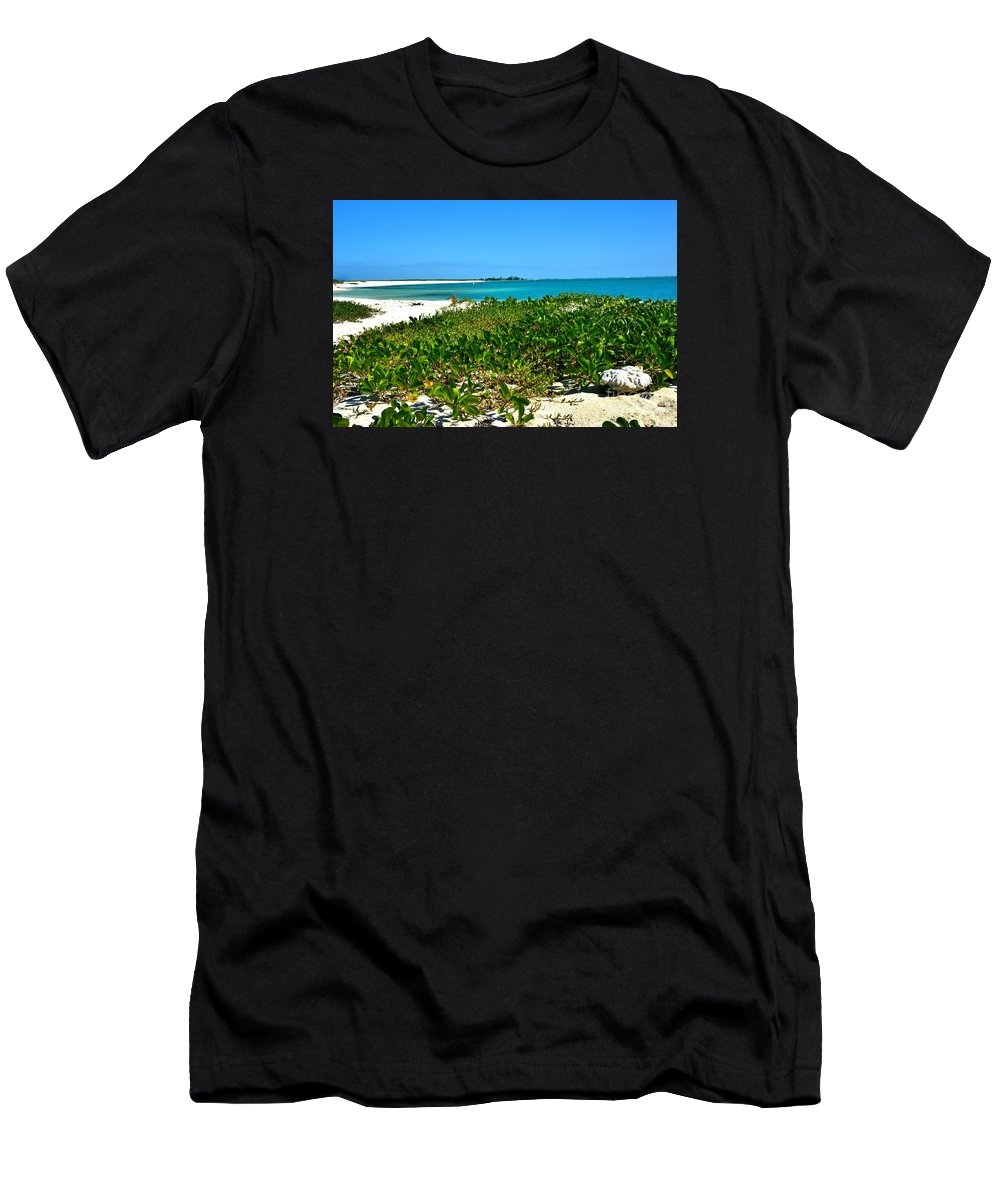 Oasis Men's T-Shirt (Athletic Fit) featuring the photograph Oasis by Lisa Renee Ludlum