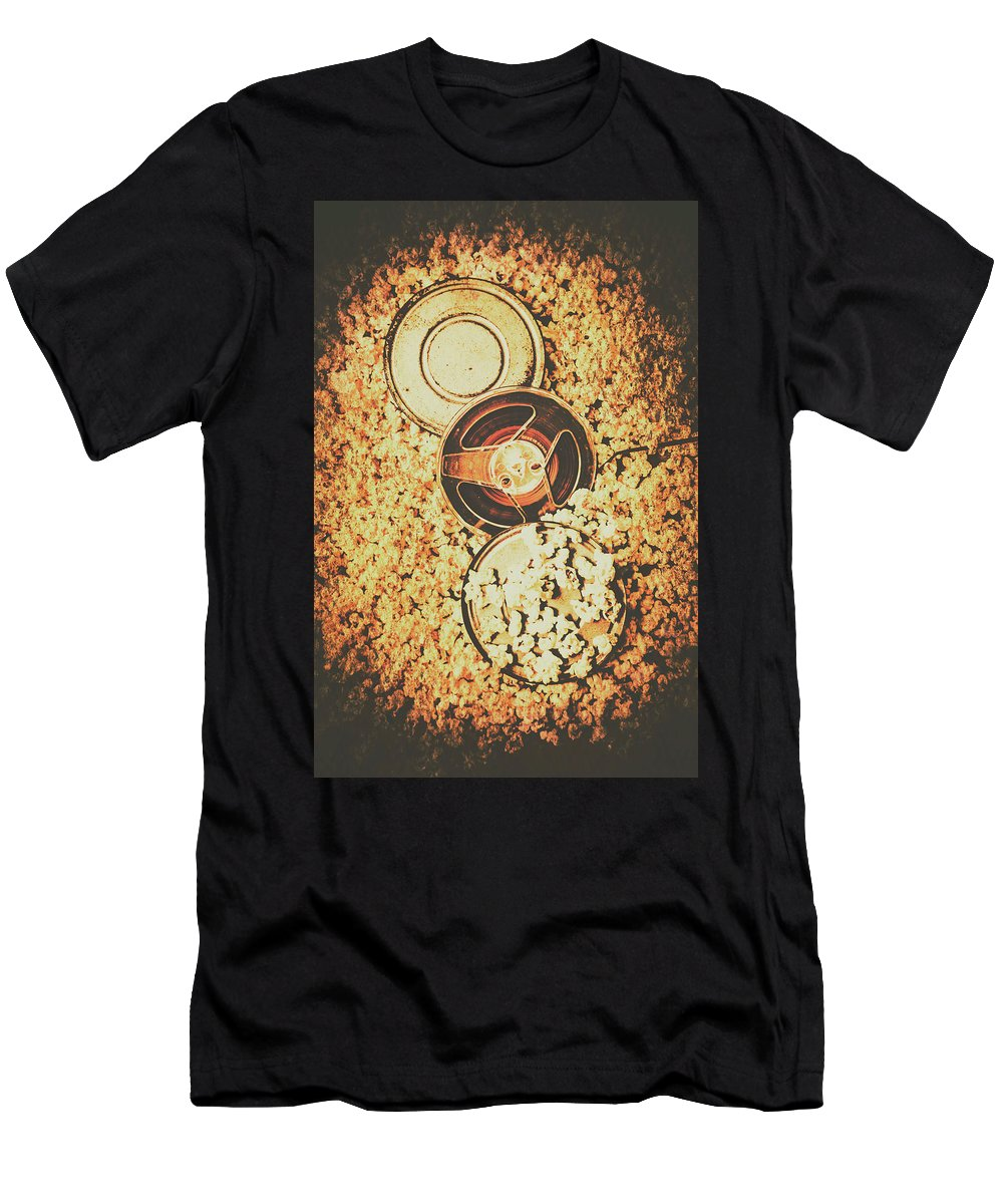Motion Men's T-Shirt (Athletic Fit) featuring the photograph Old Film Festival by Jorgo Photography - Wall Art Gallery