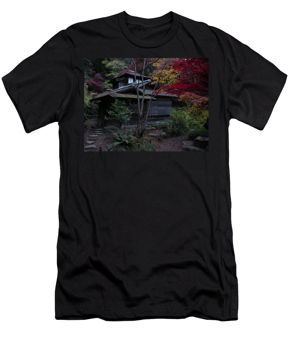 Fall Men's T-Shirt (Athletic Fit) featuring the photograph Old Japan by D Turner