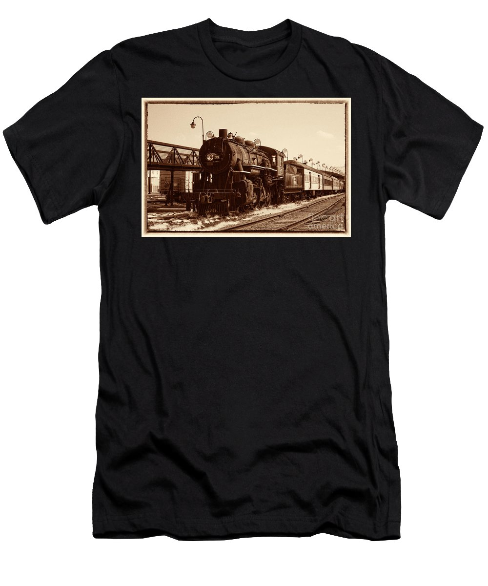 Historical Men's T-Shirt (Athletic Fit) featuring the photograph Old Number 519 by Paul W Faust - Impressions of Light